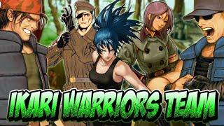 Ikari Warriors - O Time Mais Badass do The King of Fighters - Personagem do Mês #6