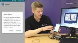 How to view CCTV DVR over Mobile - www.cctvtek.co.uk