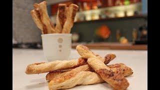 Cheese Straws | Baking Recipes | Sanjeev Kapoor Khazana