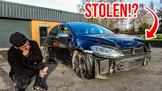 I BOUGHT A WRECKED VW GOLF R MK7.5