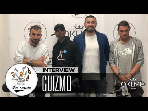 Youtube: GUIZMO («GPG2», bilan de sa carrière, sa maturité, le cinéma, Nekfeu…) – #LaSauce sur OKLM Radio