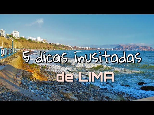 Cinco dicas inusitadas de Lima
