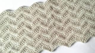 Как вязать ажурный шарф спицами(, 2018-11-17T10:00:10.000Z)