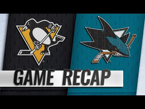 Hertl lifts Sharks to 5-2 win over Pens with hatty