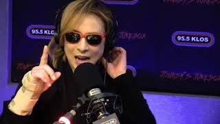 Yoshiki from X Japan in-studio on Jonesy's Jukebox