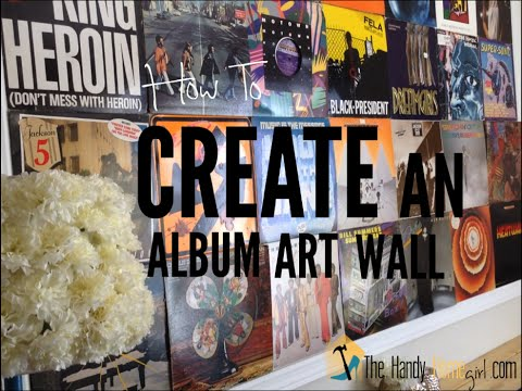How To Create An Album Art Wall