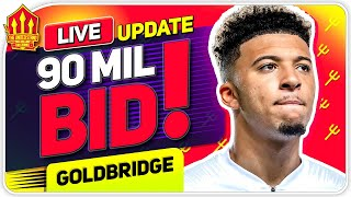 SANCHO 90M BID INCOMING! Man Utd Transfer News