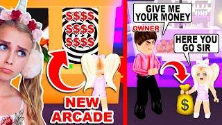 *NEW* ARCADE Is BRAINWASHING KIDS To Make MORE MONEY In Adopt Me! (Roblox)
