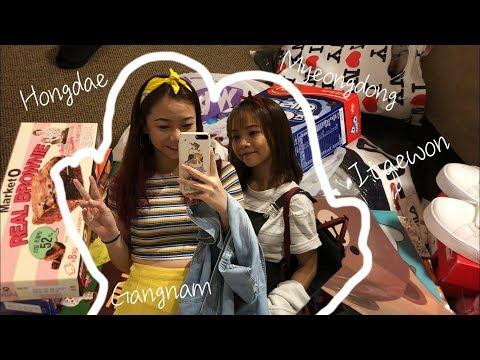 Seoul Haul!! | Hongdae, Gangnam & many more