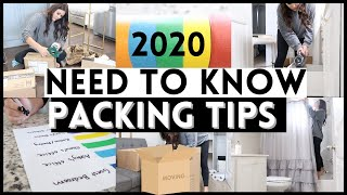 NEED TO KNOW PACKING TIPS 2020 | PACKING STRATEGIES FOR YOUR MOVE | Til Vacuum Do Us Part