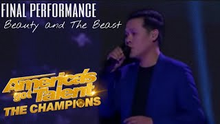 Marcelito Pomoy's Final Performance on America's Got Talent (Beauty and the Beast)