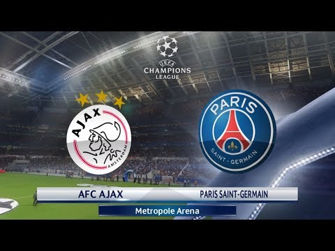 AFC AJAX vs Paris Saint-Germain Champions League First Knock