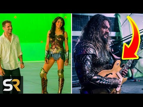 Download Youtube: Justice League: 5 Behind The Scenes Moments You Won't Believe