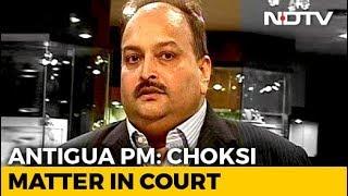 "Mehul Choksi's ""Citizenship Will Be Revoked, That Is Reality"": Antigua PM"