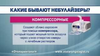 видео Ингаляции при бронхите: приборы, описание