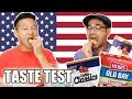 Trying Snacks and Treats from Maryland USA