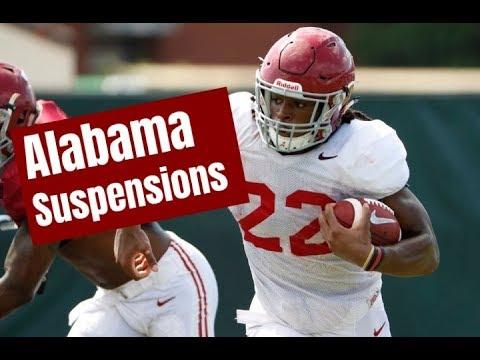Alabama Crimson Tide Player Suspensions: Najee Harris, Brian Robinson, Terrell Lewis