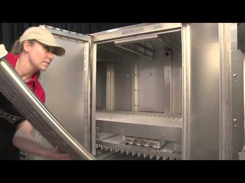 Hobart FT1000e Flight-Type Commercial Dishwasher Operator Training F40922