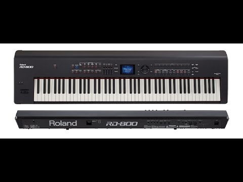 Roland RD-800 stage piano reviewed - KeyboardMag