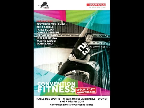 CONVENTION FITNESS LYON 14éme ANNIVERSAIRE ASF  2016 DYNAMIC STEP JOEL
