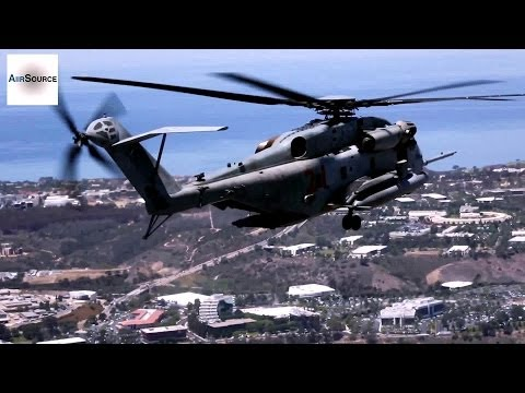 USMC Helicopters Assisting with San Diego County Wildfires
