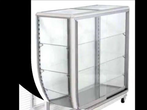 Vitrinas en aluminio youtube for Vitrinas de cocina ikea