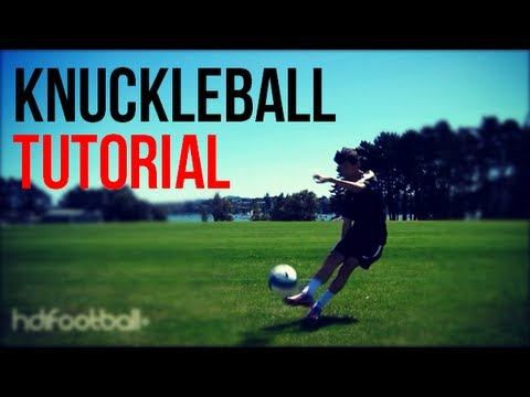 Knuckleball Tutorial | How To Shoot A Knuckling Free Kick