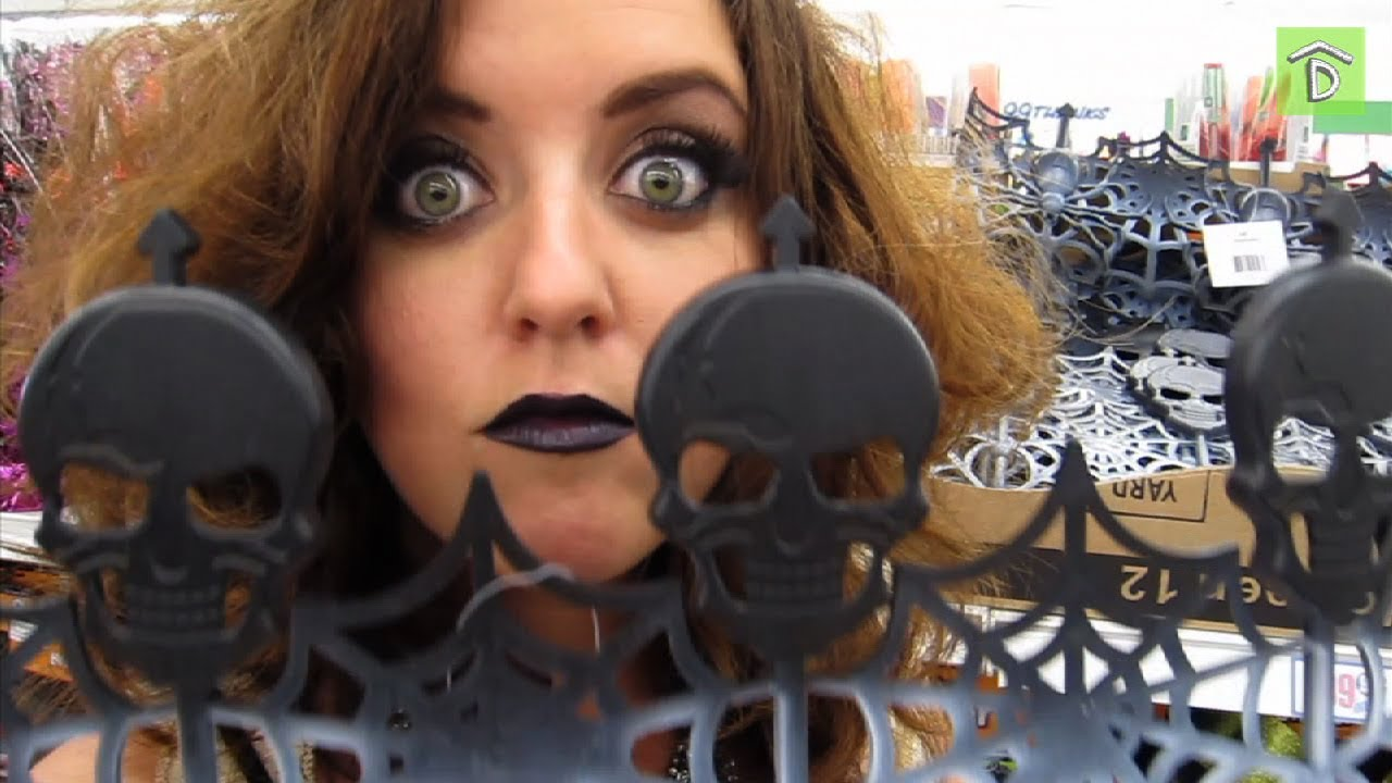 glam halloween decor from the 99 cent store youtube