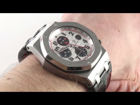 Audemars Piguet Royal Oak Offshore Chronograph 26170ST.OO.D101CR.02 Luxury Watch Review