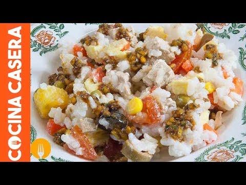 Ensalada de arroz youtube - Ensalada de arroz light ...