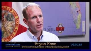 Florida NewsMakers: Florida Division of Emergency Management Director Bryan Koon