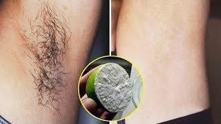 Nếu lông nách mọc lí nhí hãy cắt chanh nhúng vào muối thế này, đảm bảo sau 5 phút sẽ sạch bong