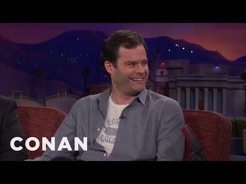"Bill Hader's ""SNL"" Monologue Came Together At The Last Minute  - CONAN on TBS"