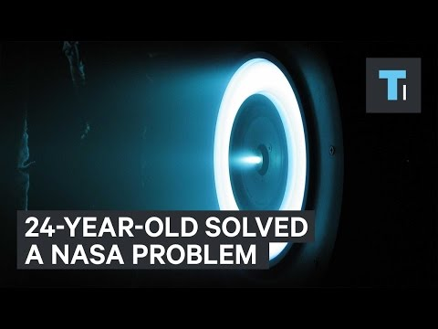 24-year-old solved a NASA problem