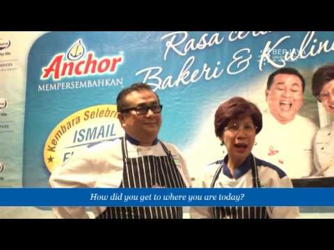 Interview Session With Chef Dato' Ismail & Chef Florence Tan May 2011