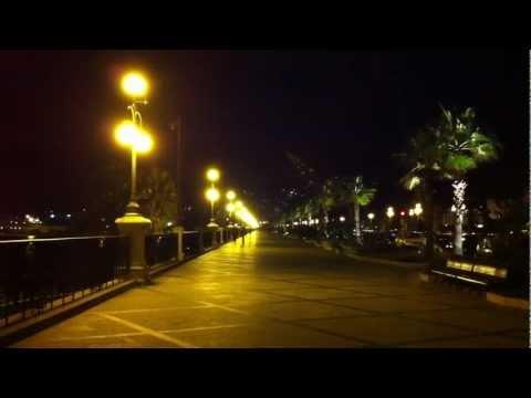"City Life Lights Reggio Calabria-Music David Sylvian ""Brilliant Trees"""