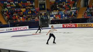 Fancam Yuzuru Hanyu CoR OP 15.11.18 run through FP