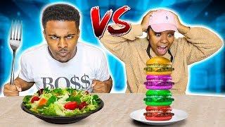 fun-vs-boring-food-challenge