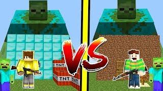 ISMETRG VS MUTANT ZOMBİ KIYAMETİ! 😱 - Minecraft