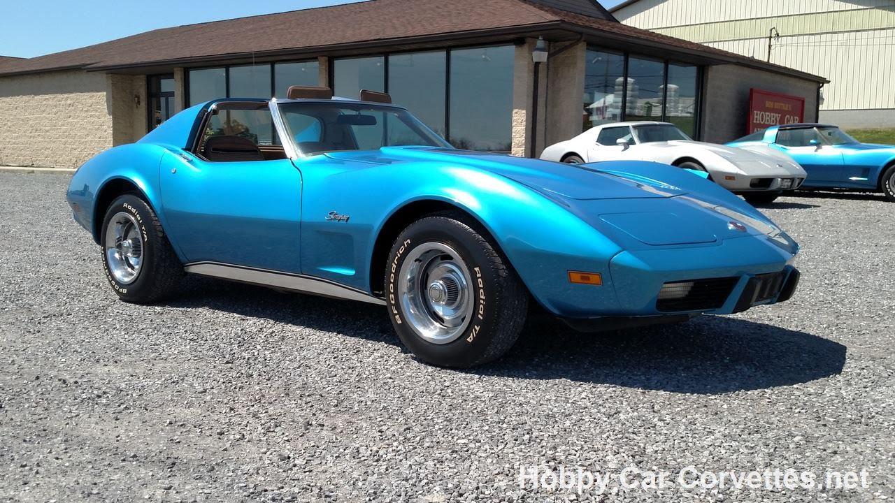 1975 Red 4spd Corvette T Top