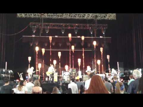 Grizzly Bear - Sleeping Ute (live) @ Bank of America Pavilion, Boston on