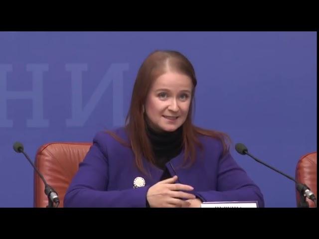 Прес конференція у Кабінеті міністрів України щодо проекту   Пакунок малюка