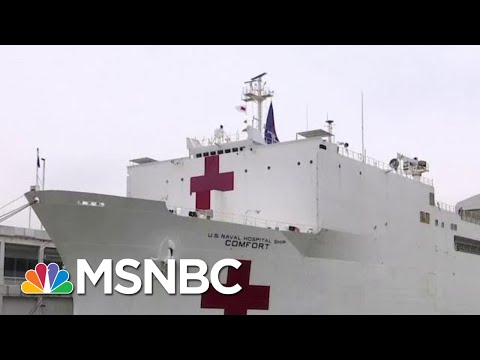 Cuomo: New York Will Be Able To Treat COVID-19 Patients On The USNS Comfort | MTP Daily | MSNBC