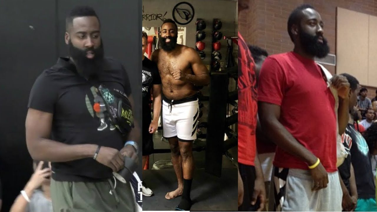 94179ff5ebf0 James Harden Is Out Of Shape For Training Camp - YouTube