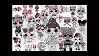 How many Lol dolls did you count yesterday? Here is the answer! by Granny B.