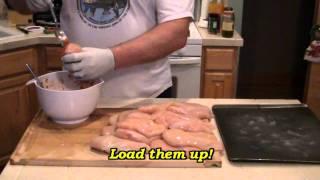 Smokingpit.com Ranchero Salsa Stuffed Chicken Breast - Yoder Ys640 Smoked