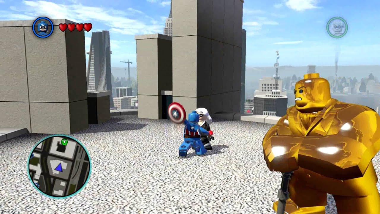 LEGO MARVEL Super Heroes - Black Cat Kills Captain America ...