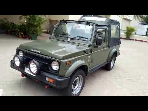2010 Olive Green Maruthi Gypsy Ex Army 4WD Petrol Euro Lll - Sold To Mysore