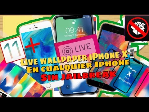 Live Wallpapers Del Iphone X En Cualquier Iphone Sin Jailbreak Ios 11 En Español 2018