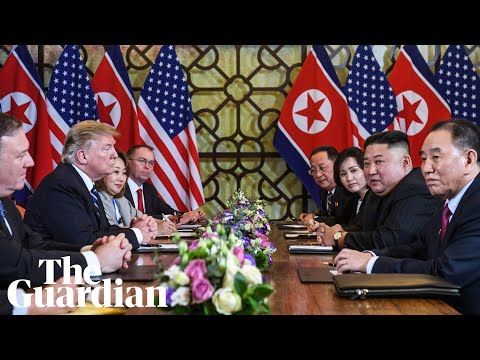 Trump-Kim nuclear talks in Hanoi break down